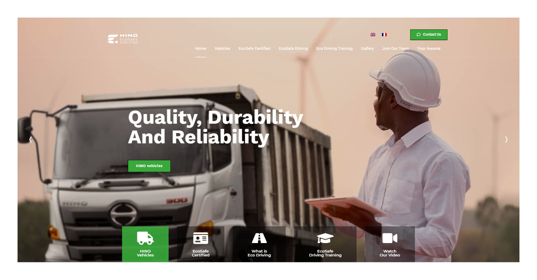Portfolio Hino EcoSafe